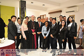 TAPiO Interns Attend Anniversary of the Election of Pope Francis