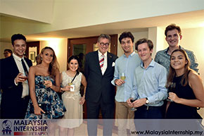 Interns at Malaysia Internship by TAPiO attends KL-EU Interns Get-Together