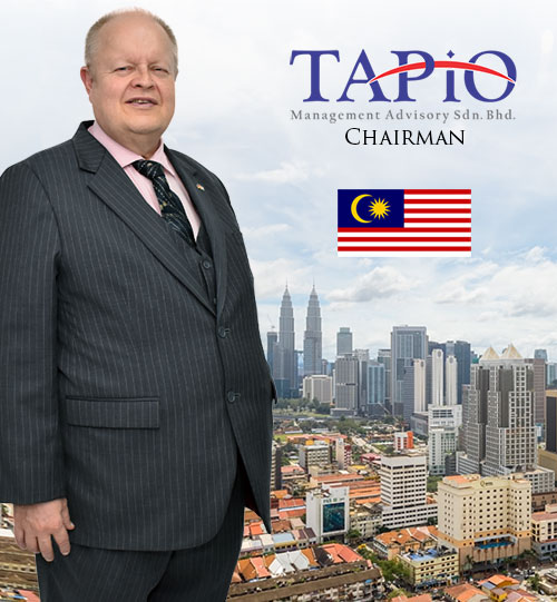 Bernhard Schutte founder and Chairman of TAPiO