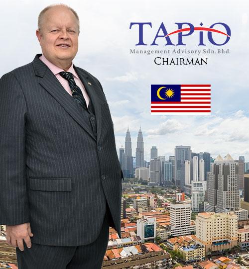 Bernhard Schutte founder and Chairman of TAPiO