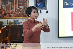 Ms. Allysha gave her talk about Humanity in: Equality